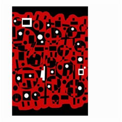 Red Small Garden Flag (Two Sides)