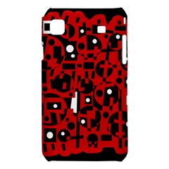 Red Samsung Galaxy S i9008 Hardshell Case