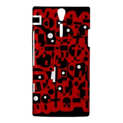 Red Sony Xperia S