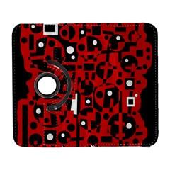 Red Samsung Galaxy S  III Flip 360 Case