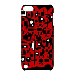 Red Apple iPod Touch 5 Hardshell Case with Stand