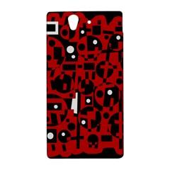 Red Sony Xperia Z