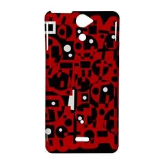 Red Sony Xperia V