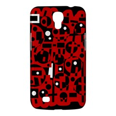 Red Samsung Galaxy Mega 6.3  I9200 Hardshell Case