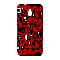Red HTC One Mini (601e) M4 Hardshell Case