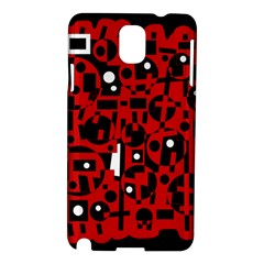 Red Samsung Galaxy Note 3 N9005 Hardshell Case