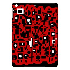 Red iPad Air Hardshell Cases