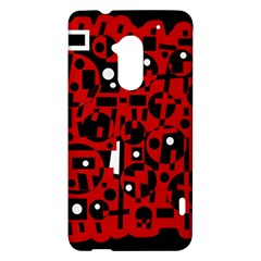 Red HTC One Max (T6) Hardshell Case