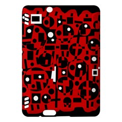 Red Kindle Fire HDX Hardshell Case