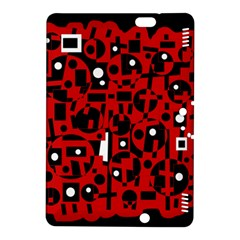 Red Kindle Fire HDX 8.9  Hardshell Case