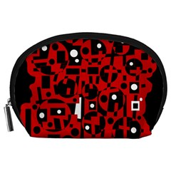 Red Accessory Pouches (Large)