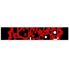 Red Flano Scarf (Large)