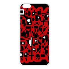 Red Apple Seamless iPhone 6 Plus/6S Plus Case (Transparent)