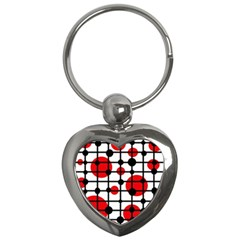 Red circles Key Chains (Heart)