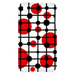 Red circles Apple iPhone 3G/3GS Hardshell Case