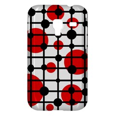 Red circles Samsung Galaxy Ace Plus S7500 Hardshell Case