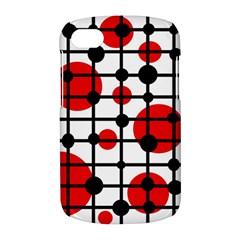 Red circles BlackBerry Q10