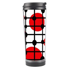 Red circles Travel Tumbler