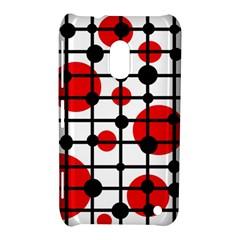 Red circles Nokia Lumia 620