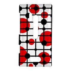 Red circles Nokia Lumia 928