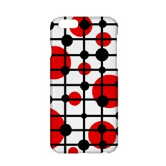 Red circles Apple iPhone 6/6S Hardshell Case