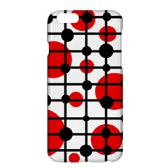 Red circles Apple iPhone 6 Plus/6S Plus Hardshell Case
