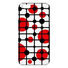 Red Circles Iphone 6 Plus/6s Plus Tpu Case