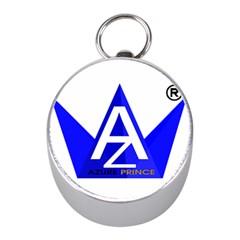 Azure Prince Mini Silver Compasses