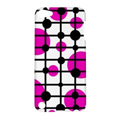 Magenta circles Apple iPod Touch 5 Hardshell Case