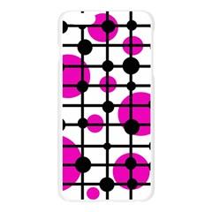 Magenta circles Apple Seamless iPhone 6 Plus/6S Plus Case (Transparent)