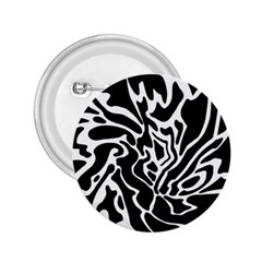 Black and white decor 2.25  Buttons