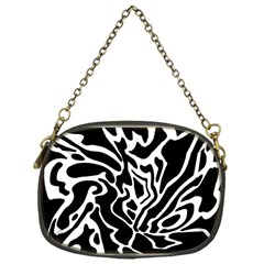 Black and white decor Chain Purses (One Side)