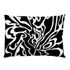 Black and white decor Pillow Case (Two Sides)