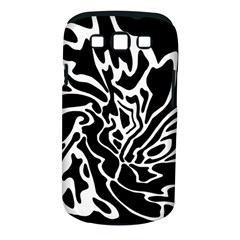 Black and white decor Samsung Galaxy S III Classic Hardshell Case (PC+Silicone)
