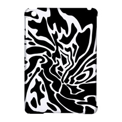 Black and white decor Apple iPad Mini Hardshell Case (Compatible with Smart Cover)