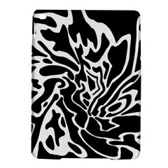 Black and white decor iPad Air 2 Hardshell Cases