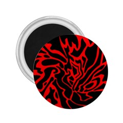 Red and black decor 2.25  Magnets
