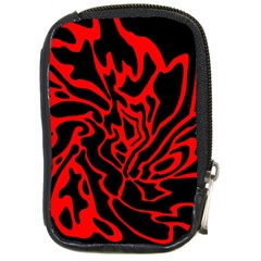 Red and black decor Compact Camera Cases