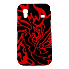 Red and black decor Samsung Galaxy Ace S5830 Hardshell Case