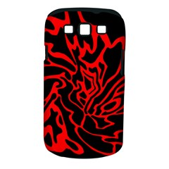 Red and black decor Samsung Galaxy S III Classic Hardshell Case (PC+Silicone)
