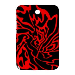 Red and black decor Samsung Galaxy Note 8.0 N5100 Hardshell Case
