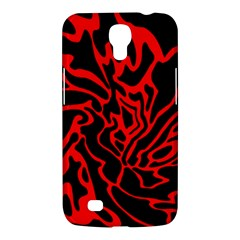 Red and black decor Samsung Galaxy Mega 6.3  I9200 Hardshell Case