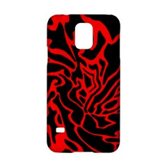 Red and black decor Samsung Galaxy S5 Hardshell Case