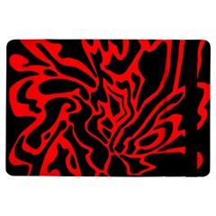 Red and black decor iPad Air Flip