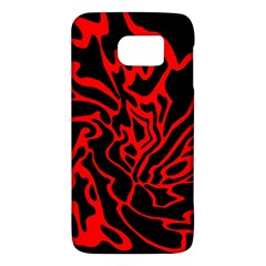 Red and black decor Galaxy S6