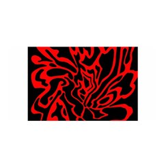 Red and black decor Satin Wrap