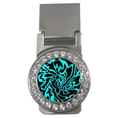 Cyan decor Money Clips (CZ)