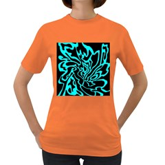 Cyan decor Women s Dark T-Shirt