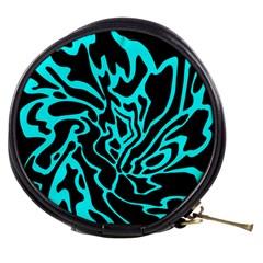 Cyan decor Mini Makeup Bags