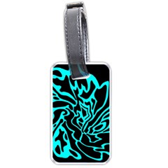 Cyan decor Luggage Tags (One Side)